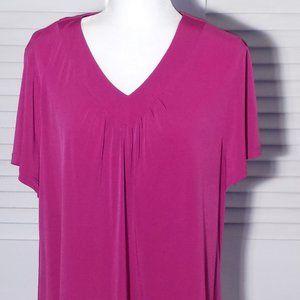 Apt. 9 Pink Hyacinth Blouse